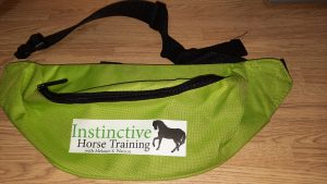 Large clicker training treat bag